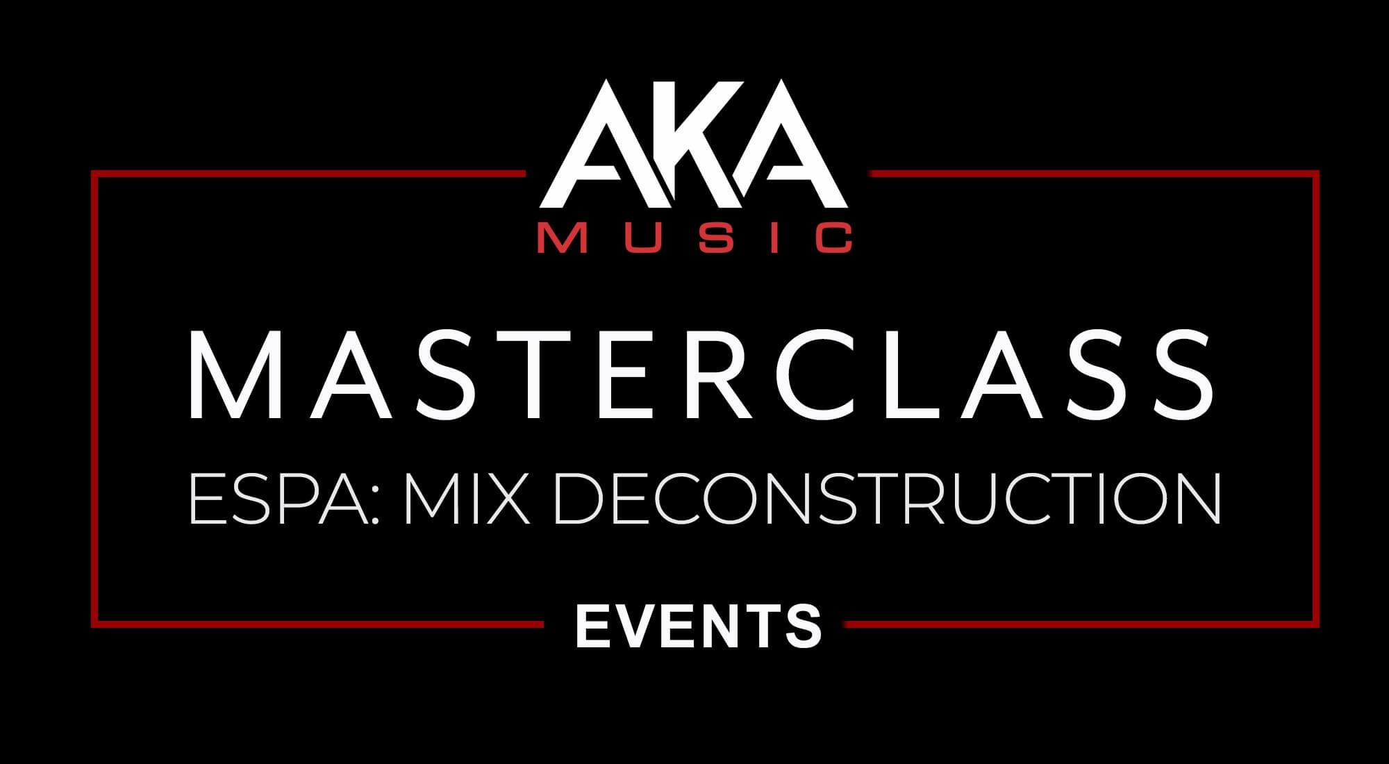 Event Header ESPA Masterclass